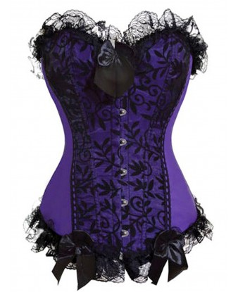 Women Steampunk Bustiers Corsets Multi-Style Overbust Waist Cinching Party Costume Tops