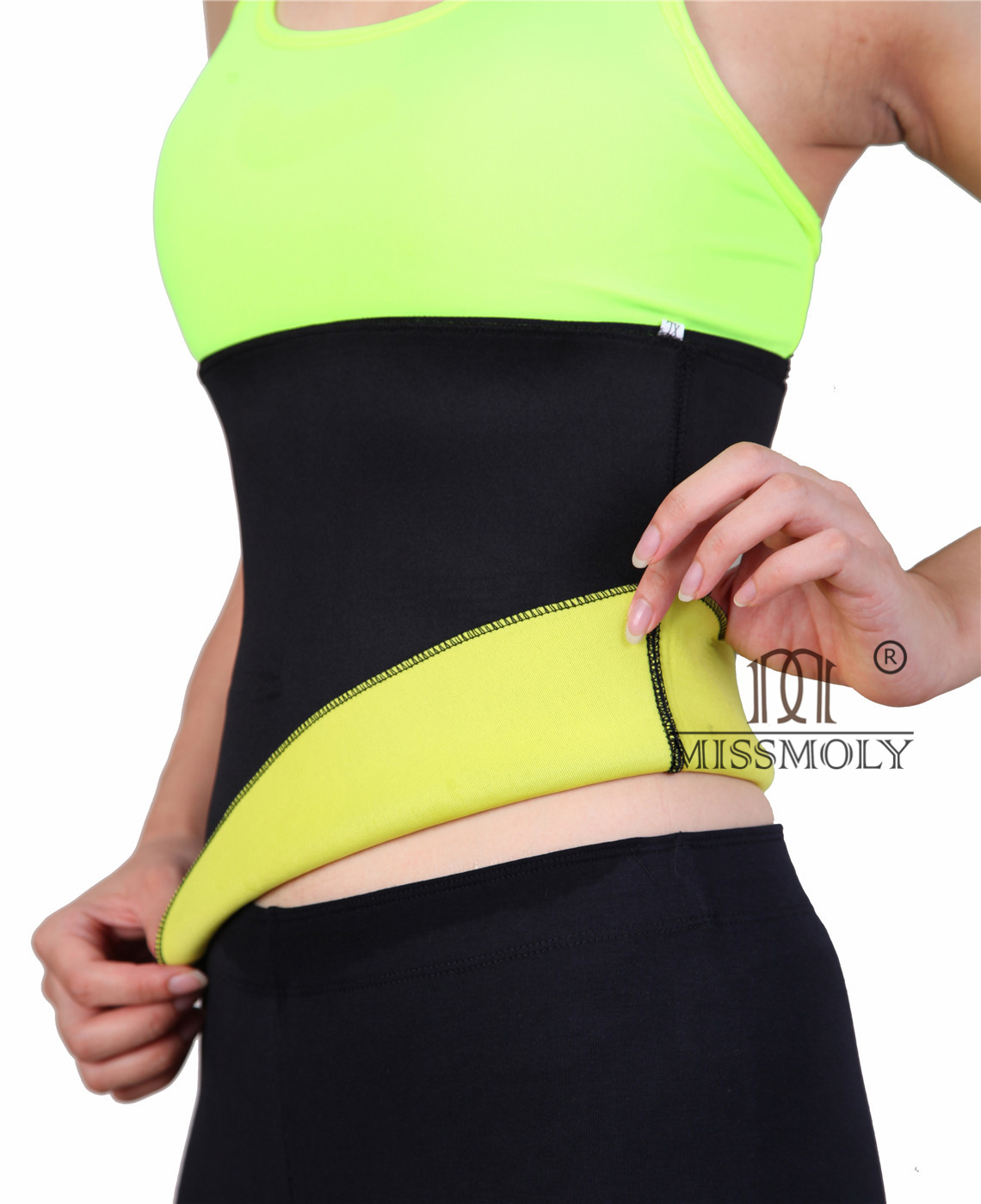 Womens Sport Fitness Hot Sweat Shaper Vest Belt Heat Maximizing Neoprene Exercise Anti Cellulite Capris